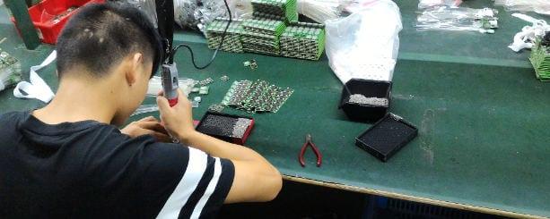 Dongguan electronics factory