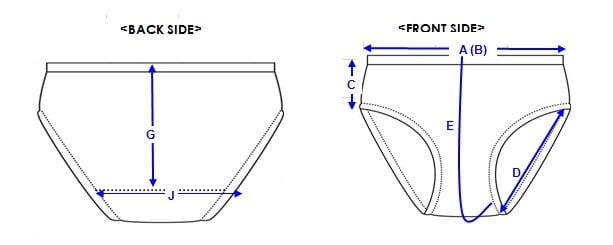 underwear design drawing