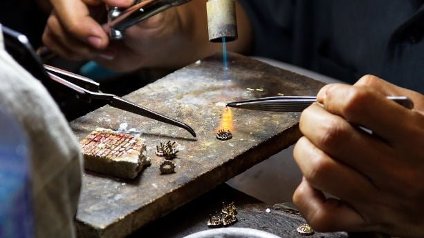 Jewelry factory in Thailand