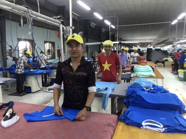 activewear manufacturers vietnam nearby garments factory