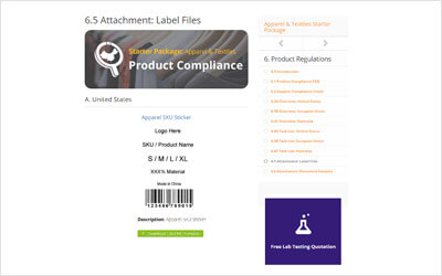 Product Compliance Module
