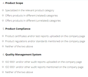 Supplier Check System